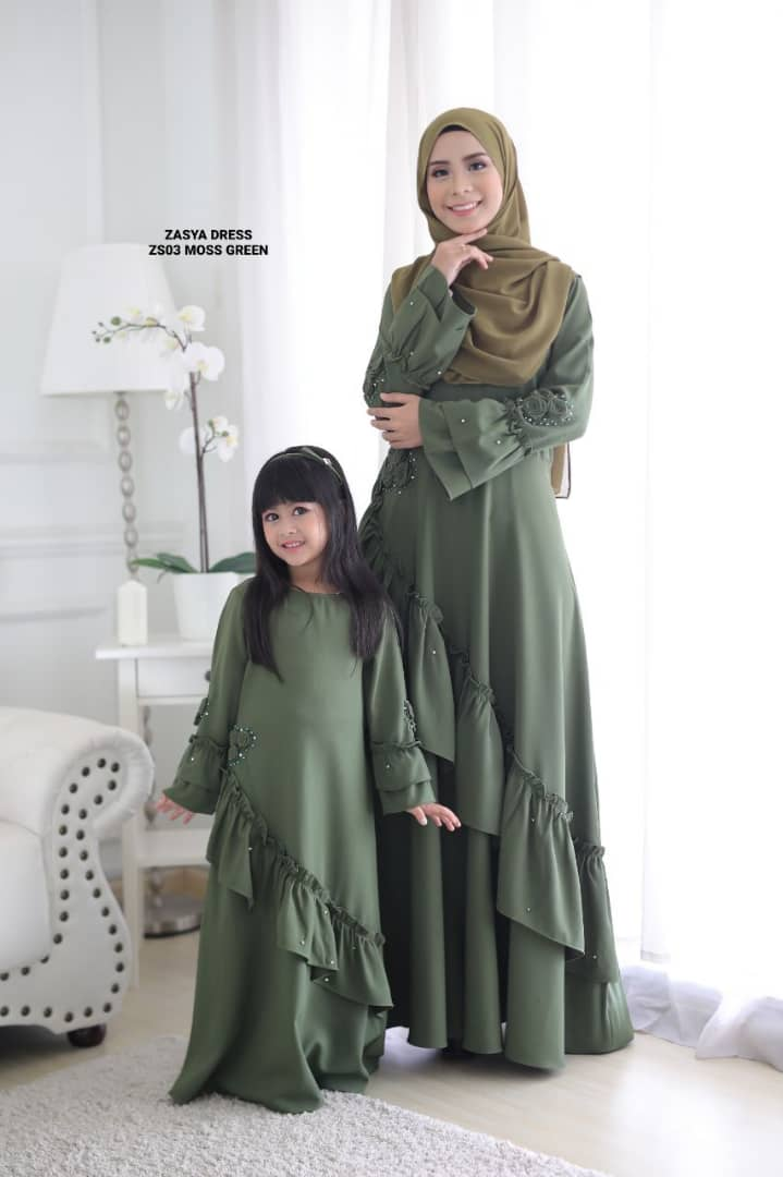 DRESS ZASYA SEDONDON RAYA 2019 ZS03 3