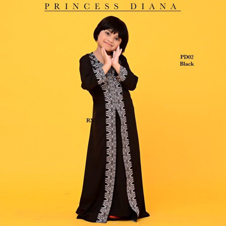 JUBAH PRINCESS DIANA RAYA SEDONDON 2019 PD02 2