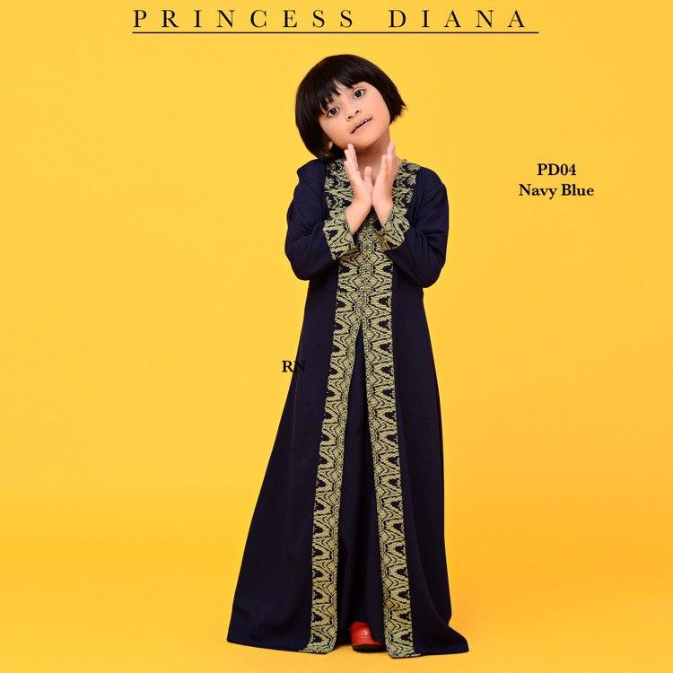 JUBAH PRINCESS DIANA RAYA SEDONDON 2019 PD04 2