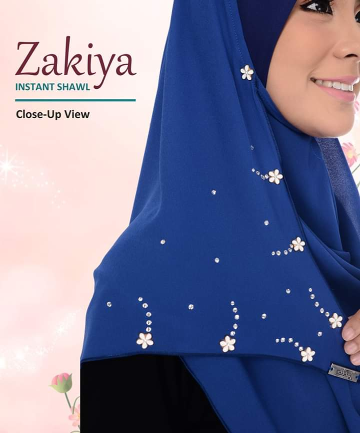 SHAWL INSTANT CHIFFON ZAKIYA CLOSE