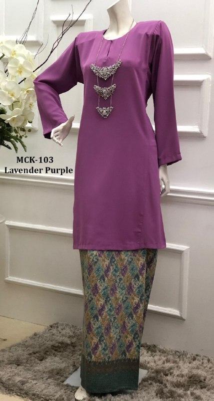 BAJU KURUNG PAHANG CORAK BATIK TERKINI MAHSURI CLASSIC MCK103 3