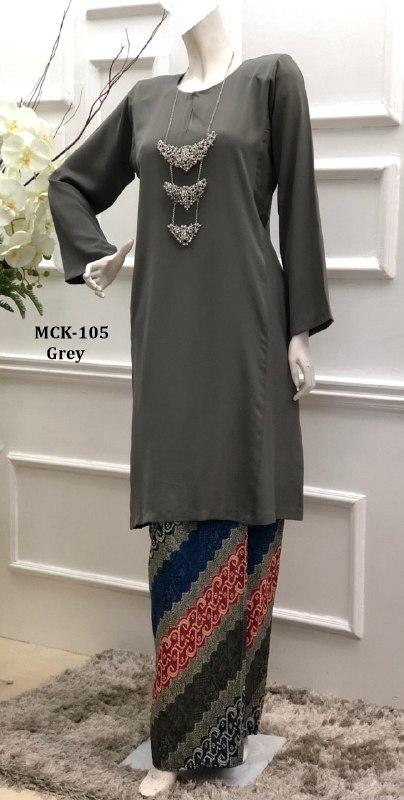 BAJU KURUNG PAHANG CORAK BATIK TERKINI MAHSURI CLASSIC MCK105 3