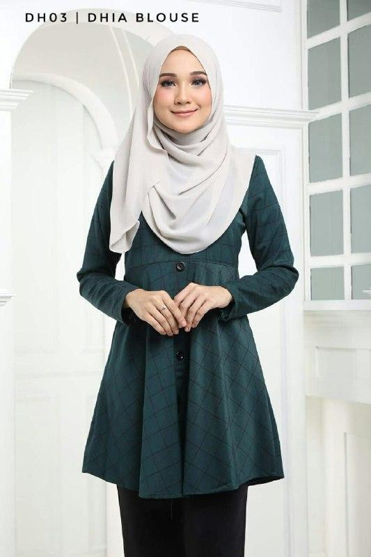 BLOUSE MUSLIMAH TERKINI DHIA DH03 1
