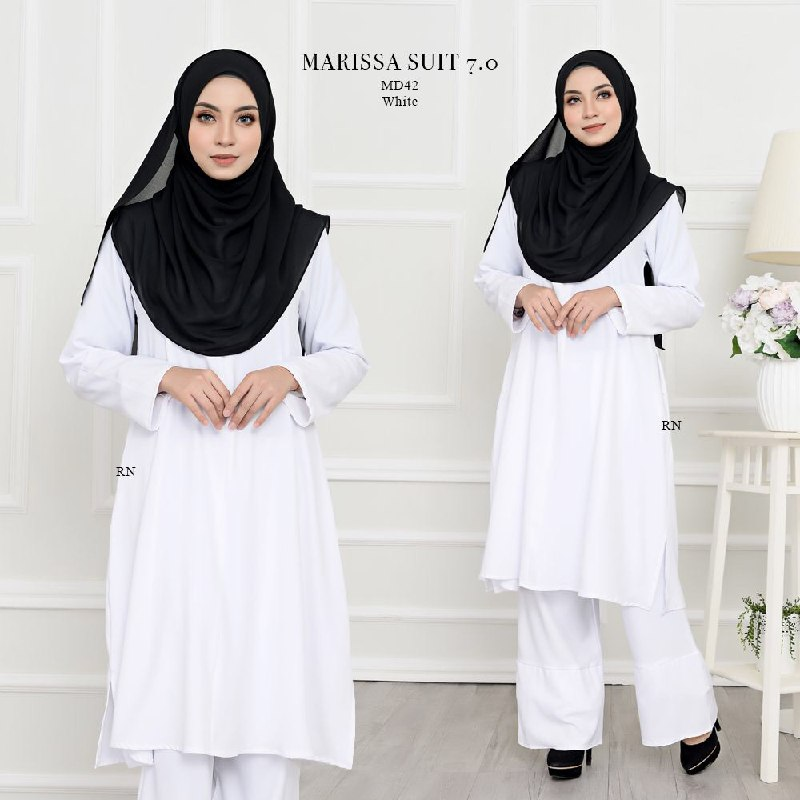 SUIT JUBAH SELUAR MUSLIMAH HAJI MARISSA MD42
