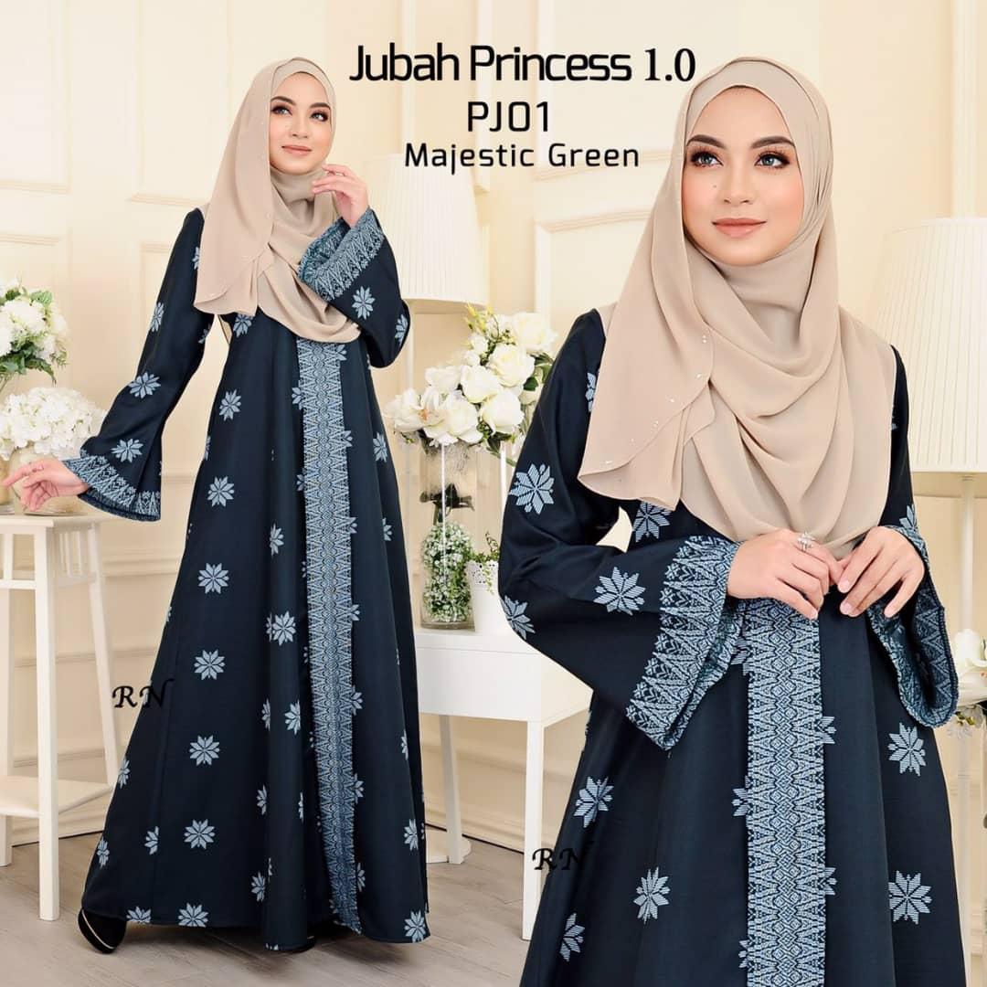 Fesyen Jubah Songket Terkini